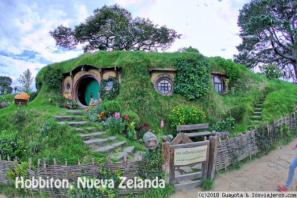 Tejado Verde de Hobitton, Nueva Zelanda