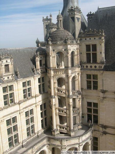 Escalera del castillo de chambord fotos de francia losviajeros - Castillo de chambord ...