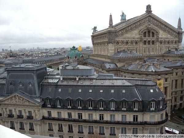 Vistas Desde La Terraza De Galerías Lafayette Fotos De