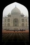 Taj Mahal enmarcado