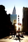 Amanece en el Chrysler Building