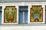 Pécs: Decoration of the facade of the County Hall