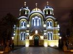 Kiev, festín de templos ortodoxos.