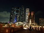 Etihad towers desde Hotel Emirates Etihad, Hotel, Emirates, towers, desde