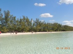 Playa en Lucayan National Park