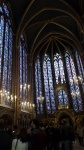 SAINT CHAPELLE DE PARIS SAINT, CHAPELLE, PARIS, INTERIOR, AINT