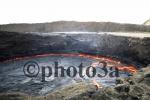 Lava lake at Erta Ale volcano