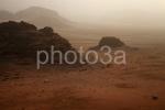 puesta de sol en el wadirum