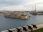 La Valeta, Saluting battery y Vittoriosa