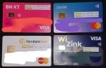 Tarjetas débito y crédito