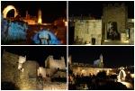 Torre de David de noche