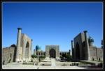 Plaza Registán en Samarkanda