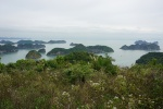 Vistas desde Cannon Fort, Cat Ba