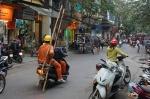 Crazy motos en Hanoi