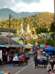 Mercadillo en Mae Hong Son