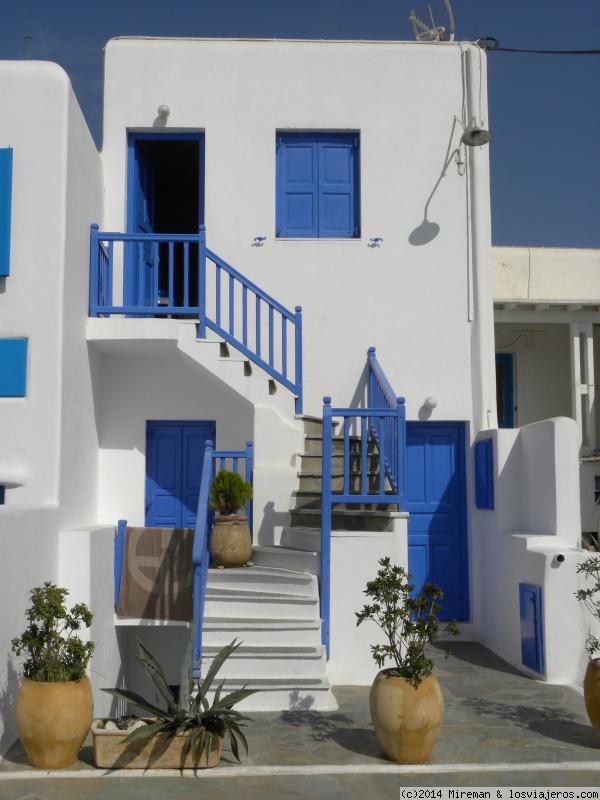 Mykonos tipicas casas de la ciudad fotos de grecia - Casas en la provenza ...