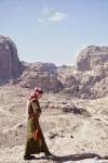 Guardia en Petra (Jordania)