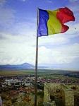 Ir a Foto: Rasnov (Cetatea) Bandera rumana