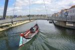 Surcando los canales en Aveiro