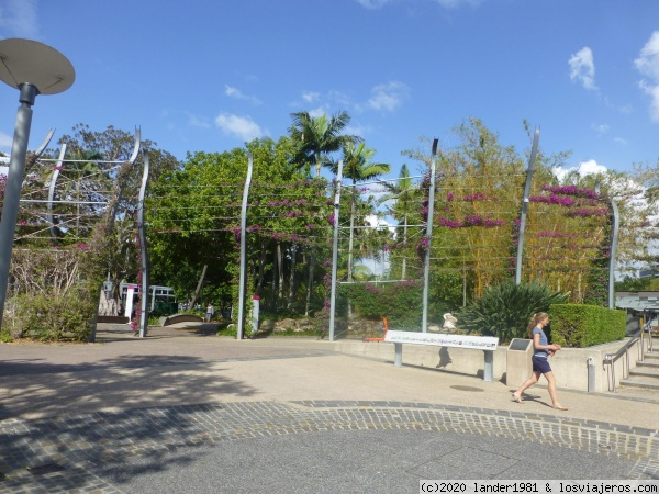 parque de south banks en brisbane parque de south banks en brisbane