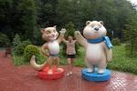 Los simbolos de la Olimpiada en Sochi