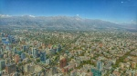 Santiago de Chile desde el edificio Sky Costanera