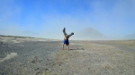 desierto de arena  Bromo