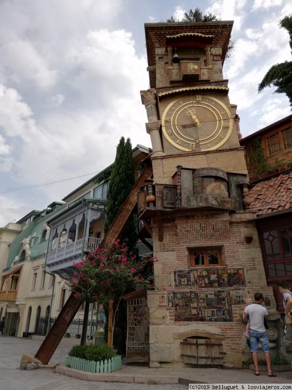 El famoso reloj del Old Tblisi