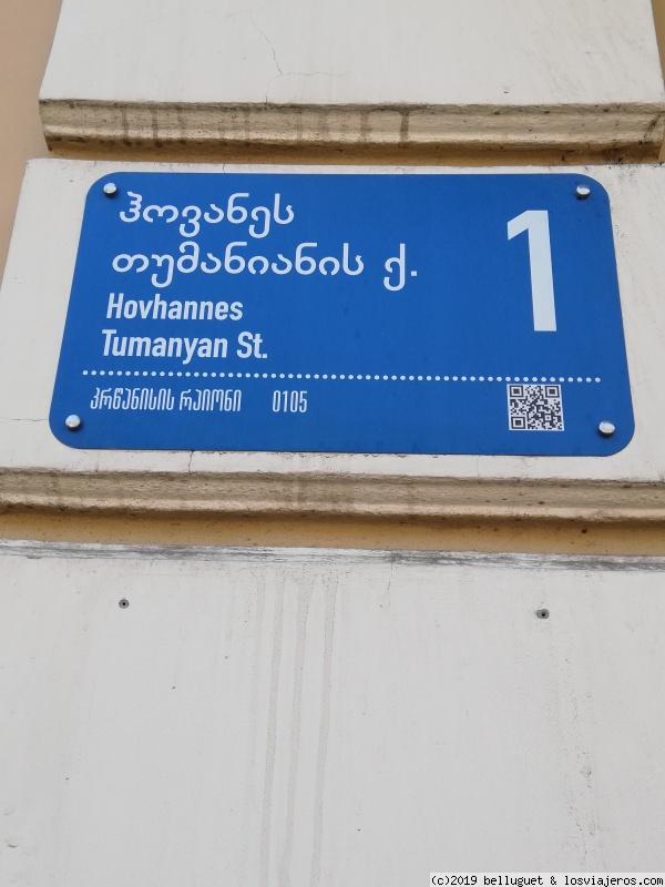 Menos mal que los nombres de las calles están en inglés
