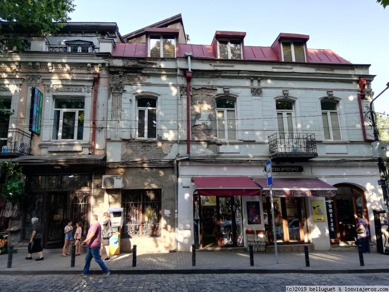 Callejeando cerca de la Avenida Rustaveli