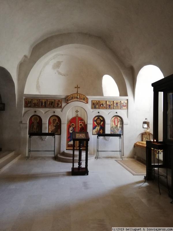 Interior del Monasterio