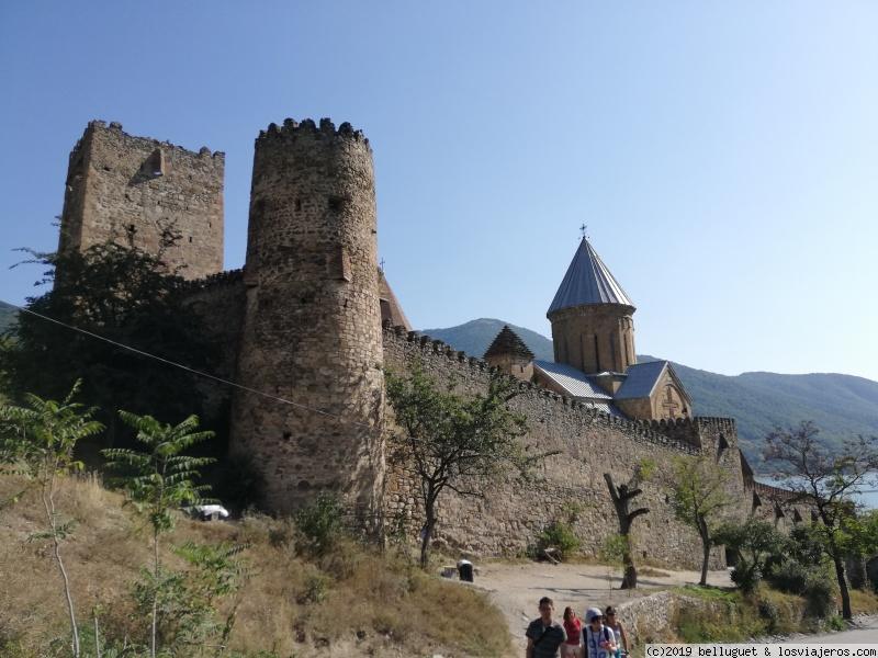 Fortaleza de Ananuri, del siglo XVIII