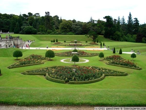 Los jardines italianos de powerscourt fotos de irlanda for Jardines italianos