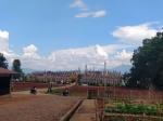 Vista del complejo de Kakku