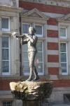Estatua del flautista de Hamelin