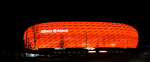 Allianz Arena Allianz, Arena, Estadio, Bayern, Múnich, noche