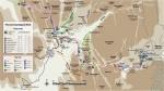 Mapa caminos Petra