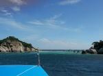 Koh Nang Yuan desde el barco de buceo