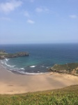 Playa de Torimbia en Asturias (España)