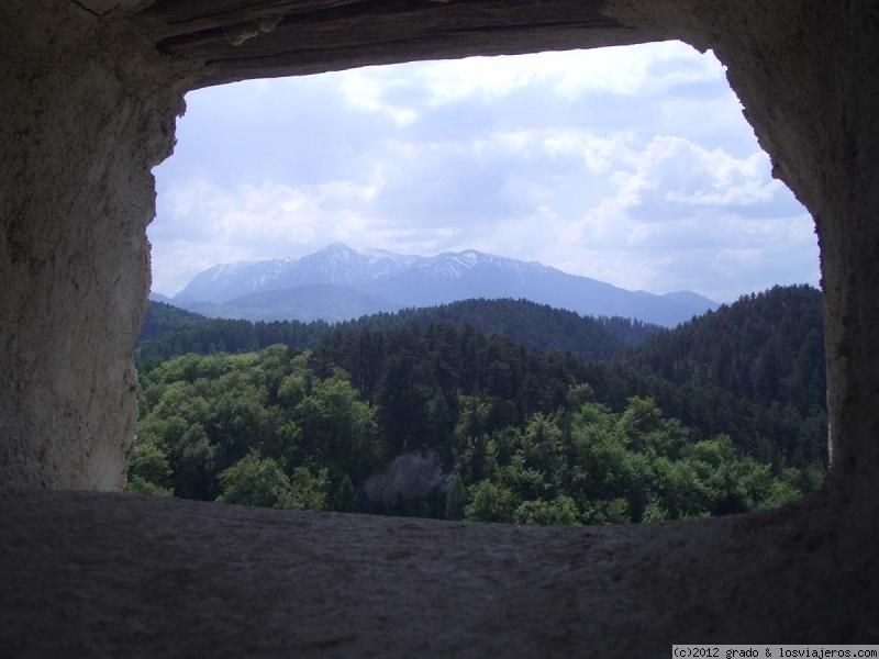 Vistas desde Fortaleza de Rasnov - Rumania