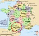 Localización zona Midi-Pyrénées