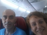 Felices en el avion