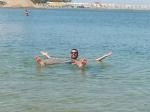 Un Uruguayo en el Mar Muerto de Israel