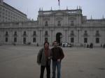 Un uruguayo en el Palacio de la Moneda (Chile)