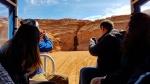 Llegando al Antelope Canyon