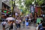 Mercado del barrio musulmán
