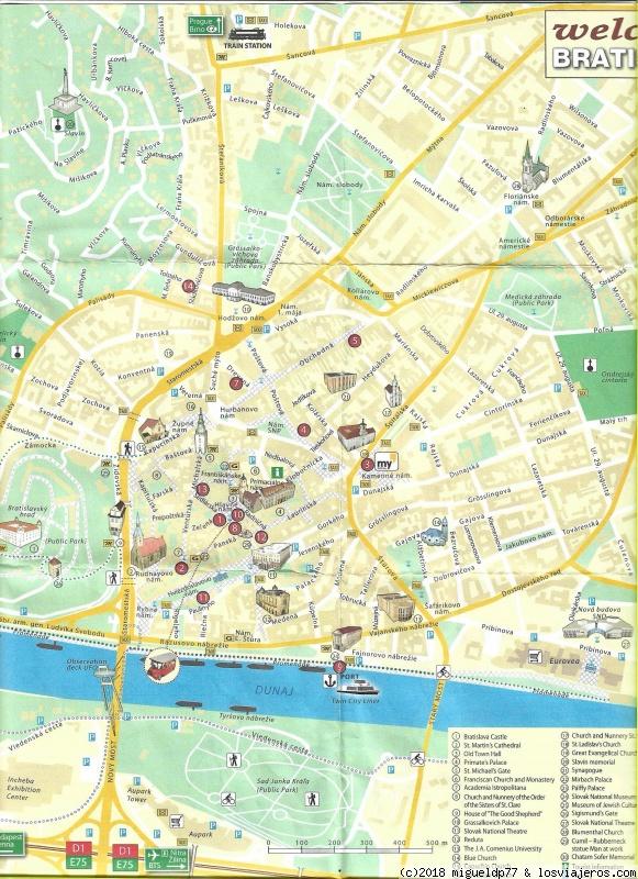 Praga Y Budapest Mapa.Mapas Turisticos Diarios De Viajes De Austria Migueldp77