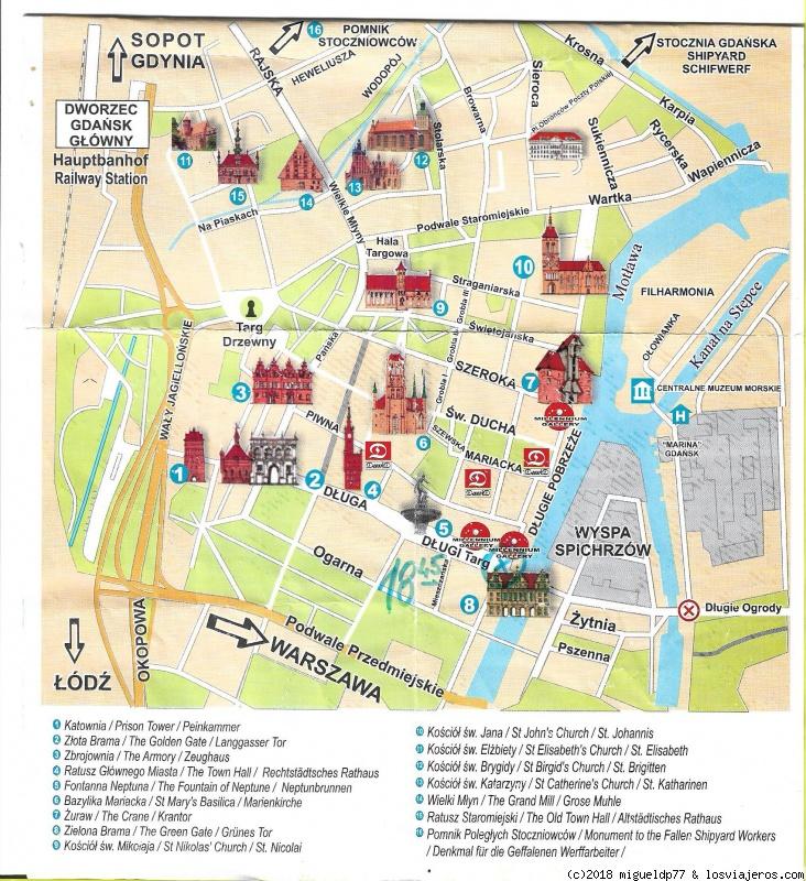 Mapa Turistico De Copenhague.Mapas Turisticos Diarios De Viajes De Baltico Y Fiordos