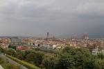 Vistas de Florencia desde la plaza Michelangelo
