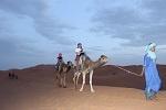Desierto Merzouga - paseo en camello